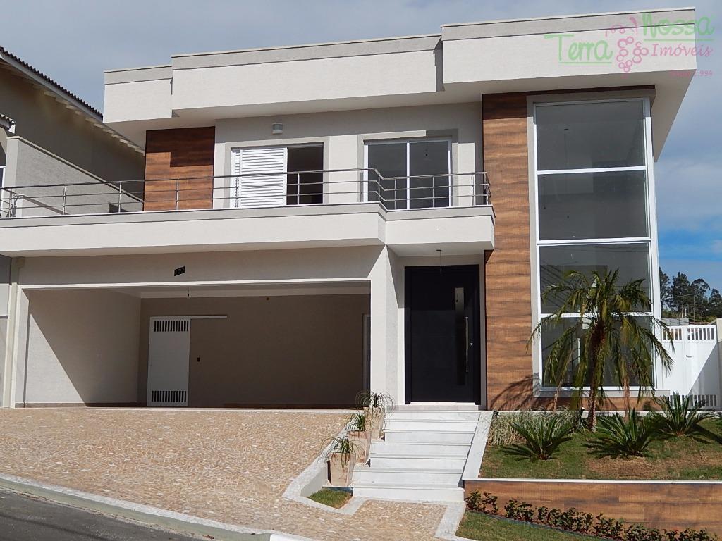 Casa residencial à venda, Condomínio São Miguel, Vinhedo - CA0380.