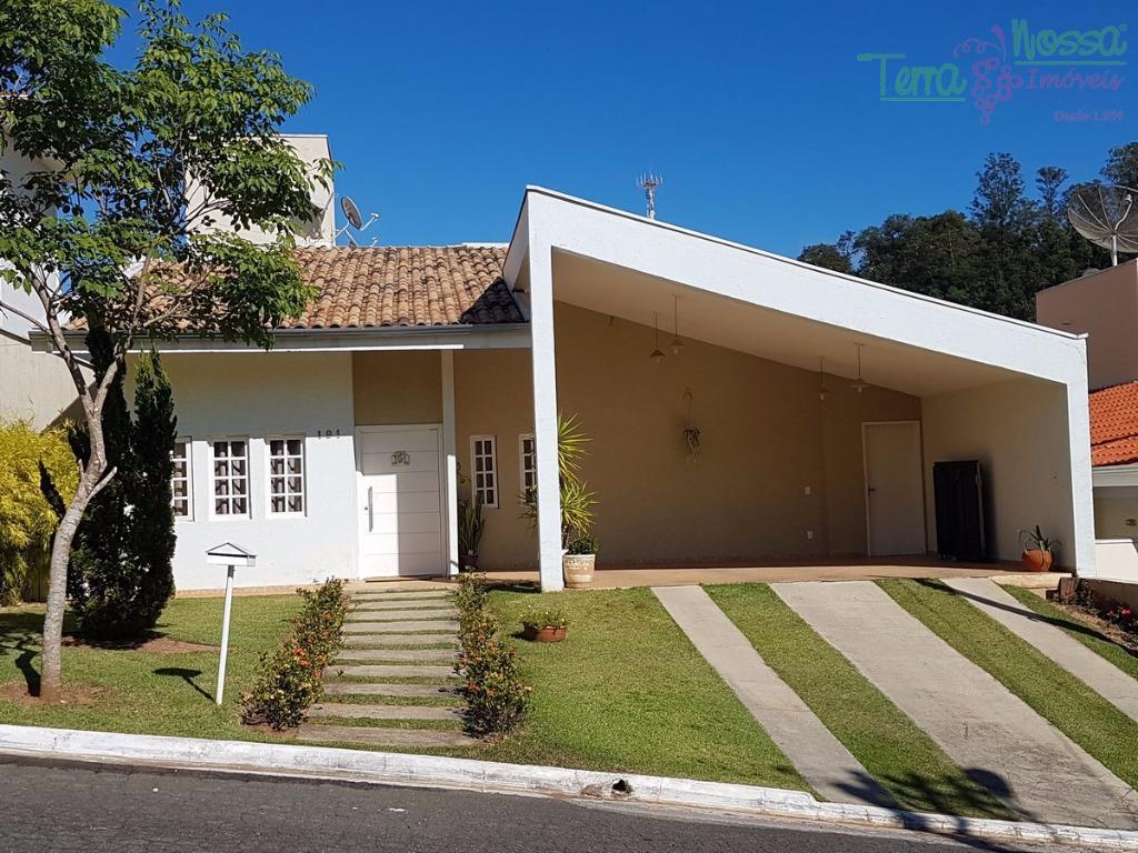 Casa residencial à venda, Condomínio São Miguel, Vinhedo - CA0663.