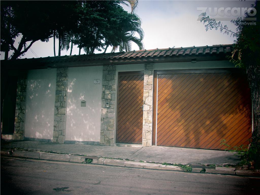 Casa residencial à venda, Vila Augusta, Guarulhos - CA0190.