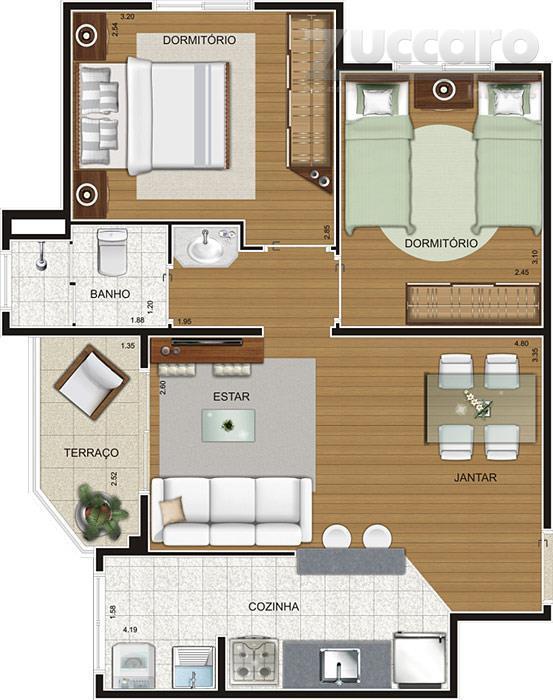 Apartamento residencial à venda, Gopoúva, Guarulhos - AP5787.