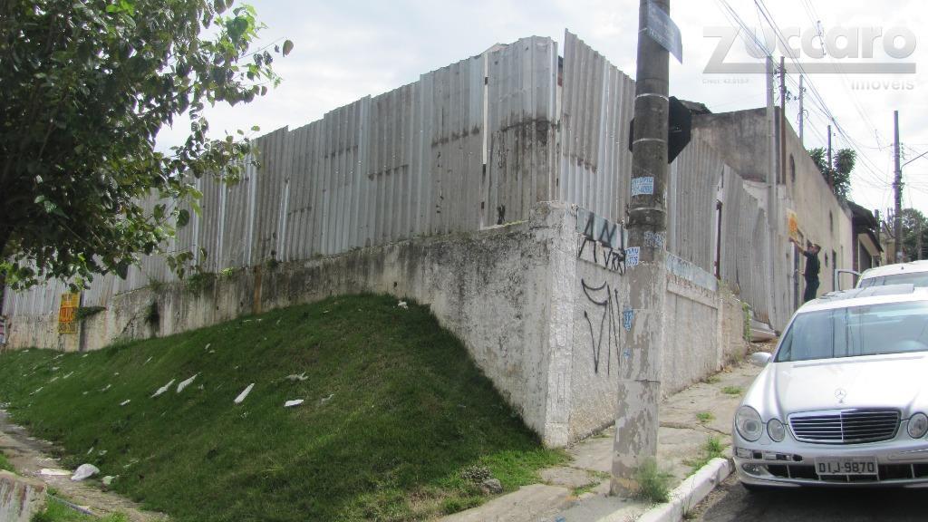 Terreno  comercial para locação, Vila Augusta, Guarulhos.
