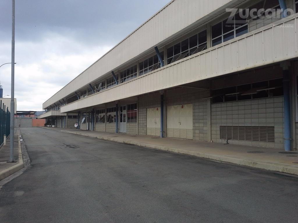 Galpão industrial para locação, Parque Santo Agostinho, Guarulhos - GA0787.