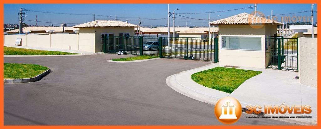 condomínio fechado, com casas de 2 e 3 dormitórios de 43m² a 55m², amplo lazer, duas...