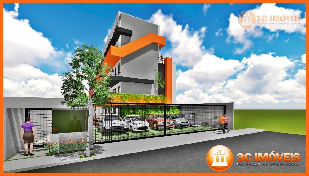 apartamento studio de 1 e 2 dormitórios de 30m² a 40m² até 1 vaga de auto.bairro...