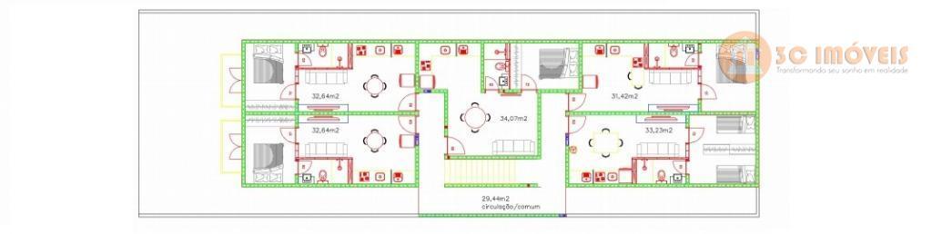 oportunidade!! lançamento.apartamento 1 dormitório, suite.valores para aquisição a vista.apartamento com escritura.