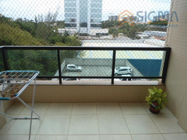 Apartamento  residencial para venda e locação, Novo Cavaleiro, Macaé.
