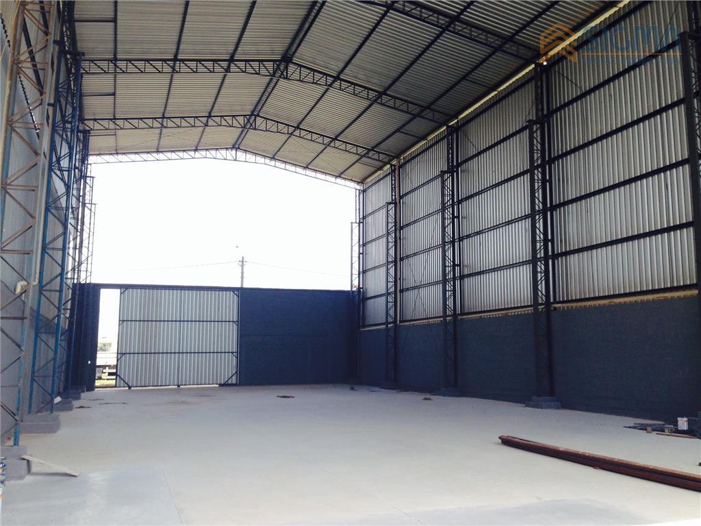 Galpão  industrial para locação, Botafogo, Macaé.