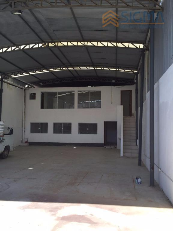Galpão industrial para locação, Sol Y Mar, Macaé