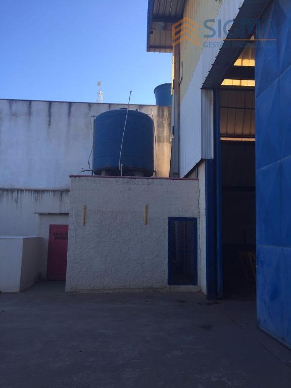 área: 2000 m²galpao: 1600 m²com 2 pontes rolantes acima de 10 toneladastanque separador de aguá e...