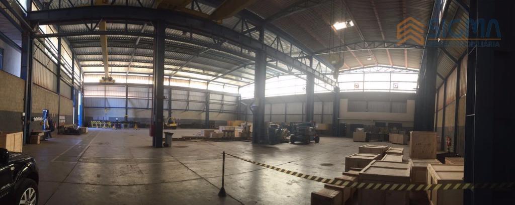 Galpão  industrial para locação, Novo Cavaleiro, Macaé.