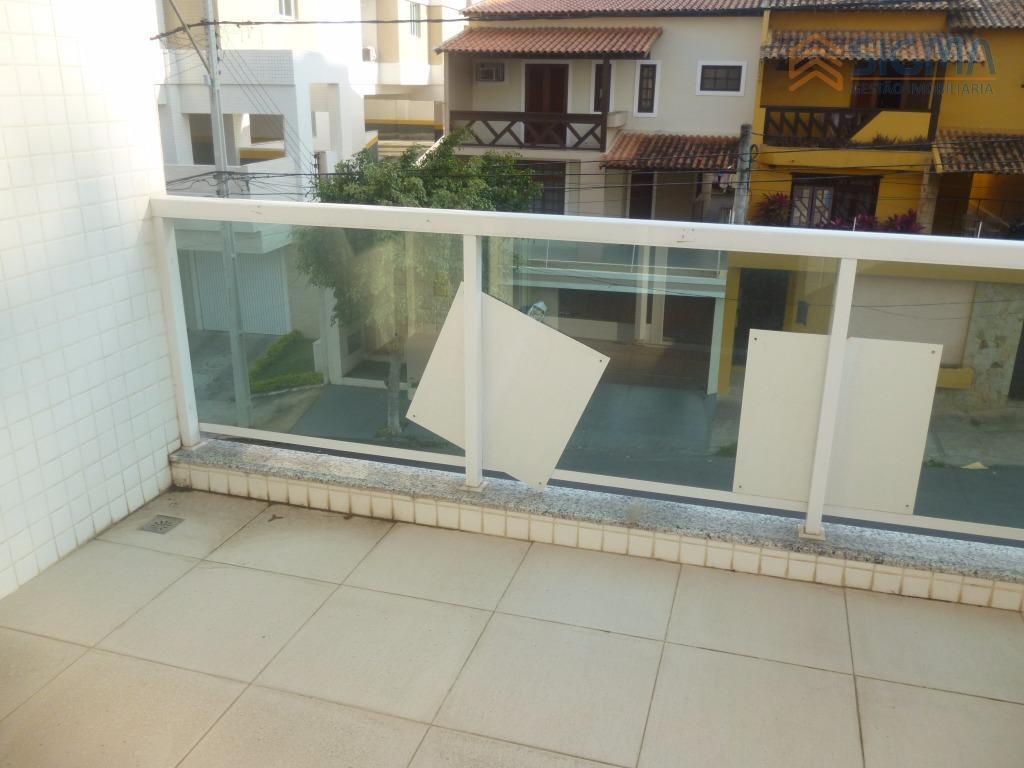 Apartamento  residencial para locação, Riviera Fluminense, Macaé.