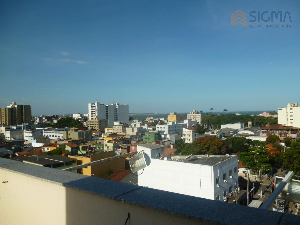 andar comercial na cobertura com uma linda vista da cidade e do mar. são 240m², recepção,...