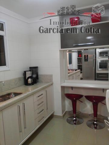 lindo apartamento. rico em móveis planejados com o acabamento todo em porcelanato 60 x 60, sendo...