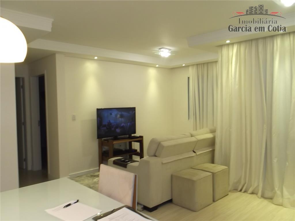 Apartamento  residencial à venda, Jardim Sabiá, Cotia.