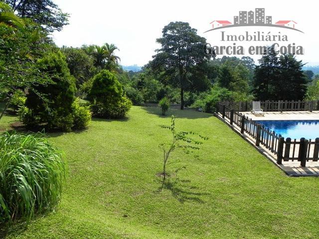 fazendinha /chác. sta lucia - 5 mil m²!casa estilo granja viana! térrea, ampla e espaçosa, campo...