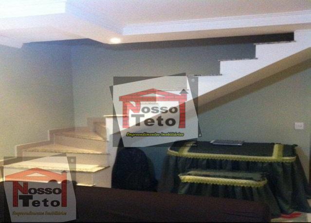 sobrado semi novo - 02 dormitórios, sendo 02 suites com varanda, sala, cozinha, banheiro, area de...