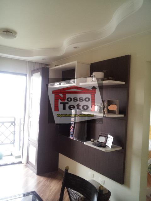 Apartamento de 1 dormitório à venda em Vila Mangalot, São Paulo - SP