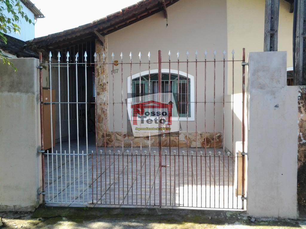 Casa de 2 dormitórios em Balneário Maracanã, Praia Grande - SP
