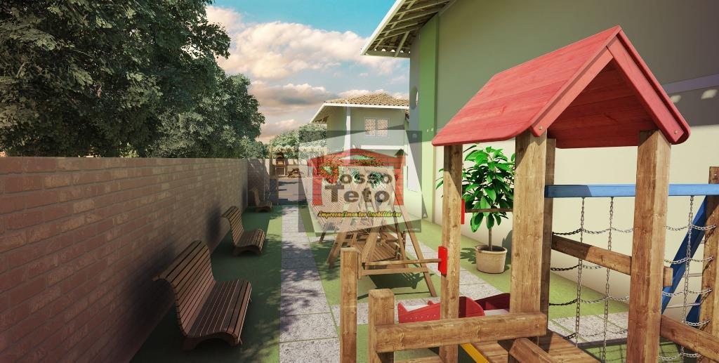 Sobrado de 2 dormitórios em Serpa, Caieiras - SP