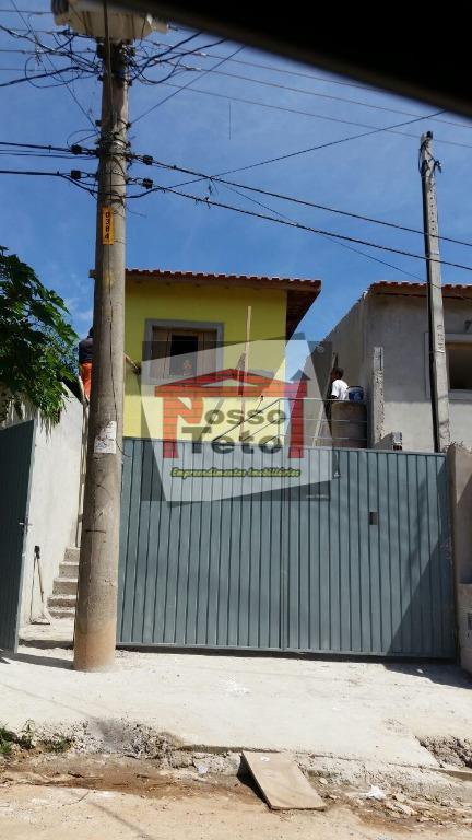 Casa de 2 dormitórios à venda em Recanto Feliz, Francisco Morato - SP