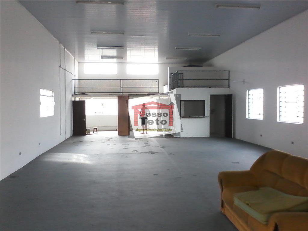 barracão com 160m² com 2 wcs e 2 mezaninos, 3 vagas de estacionamento, excelente localização, avenida...