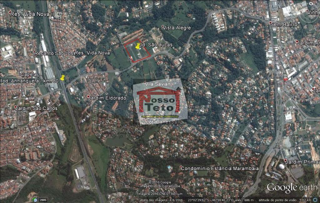 Terreno comercial à venda, Jardim São Lucas, Vinhedo.