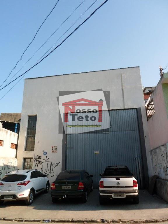 Galpão comercial para locação, Jardim Jaraguá (São Domingos), São Paulo.