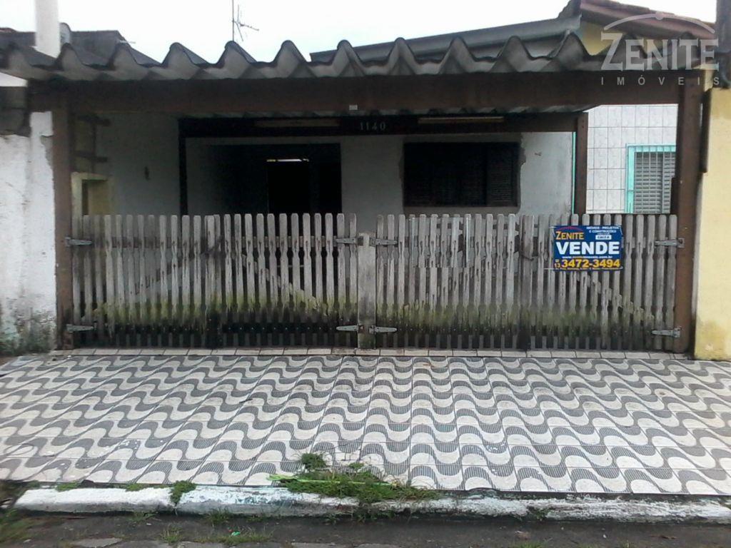 Casa  residencial à venda, Vila Mirim, Praia Grande.