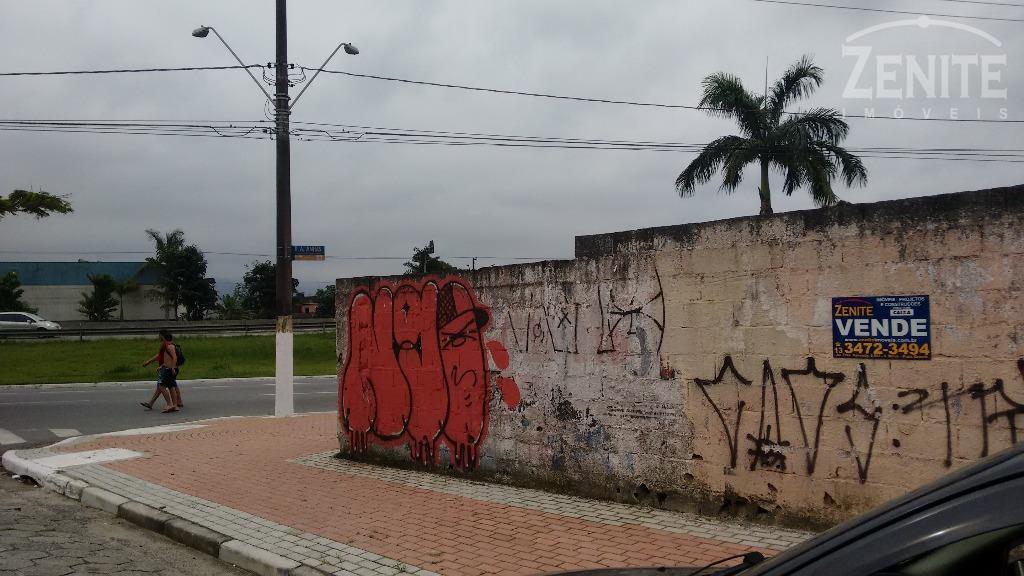 Terreno  residencial à venda, Vila Assunção, Praia Grande.