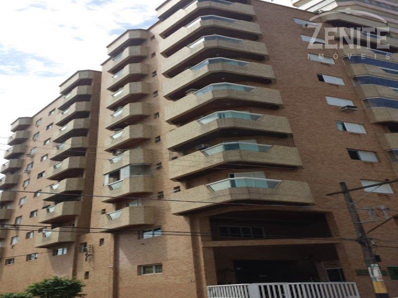 Apartamento  residencial alto padrão à venda, Vila Tupi, Praia Grande.