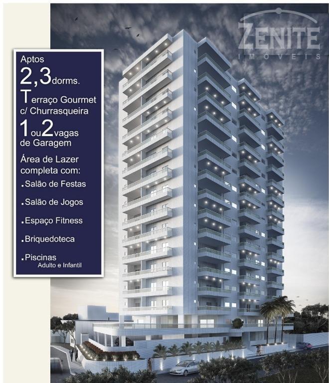 Apartamento  residencial à venda, Vilamar, Praia Grande.