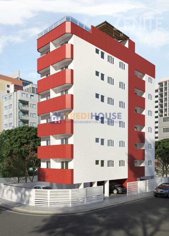 Apartamento  residencial à venda, Jardim Imperador, Praia Grande.