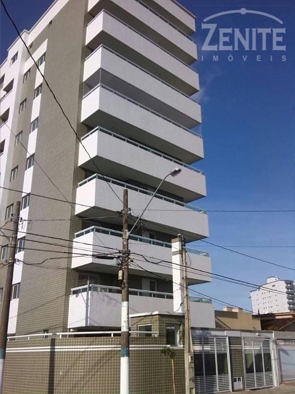 Apartamento  residencial para venda e locação, Vila Mirim, Praia Grande.