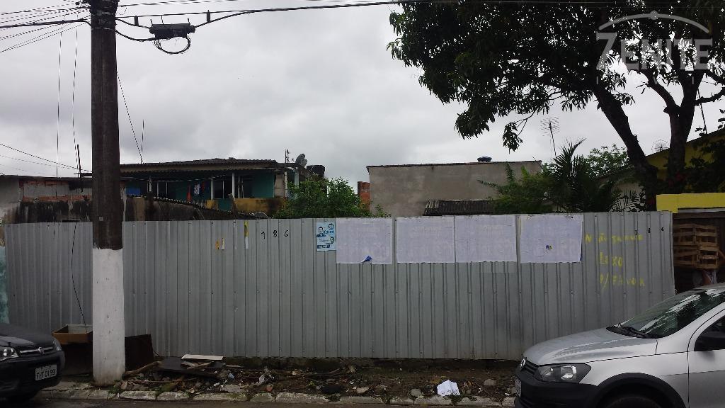 Terreno residencial à venda, Vila Sônia, Praia Grande.