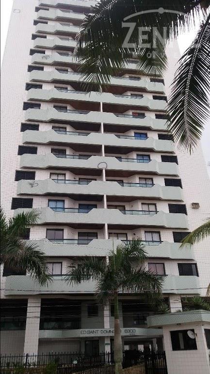 Apartamento residencial para locação, Tupi, Praia Grande.