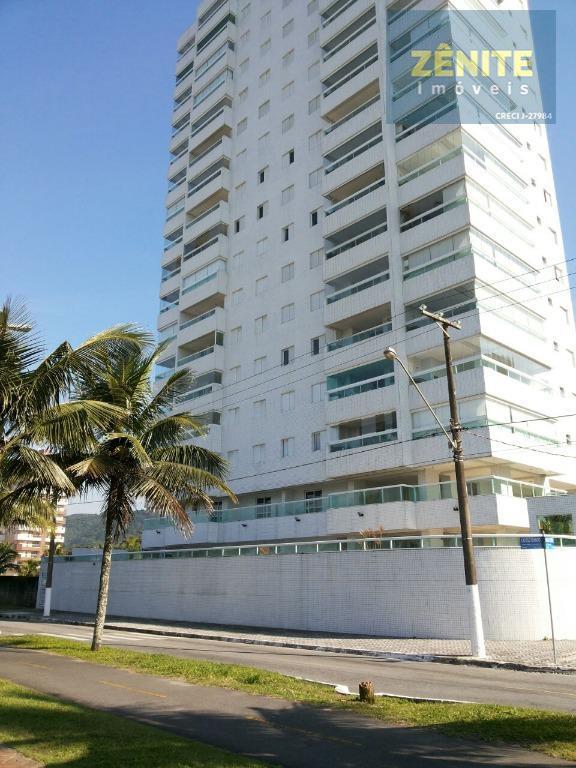 Apartamento residencial à venda, Solemar, Praia Grande.