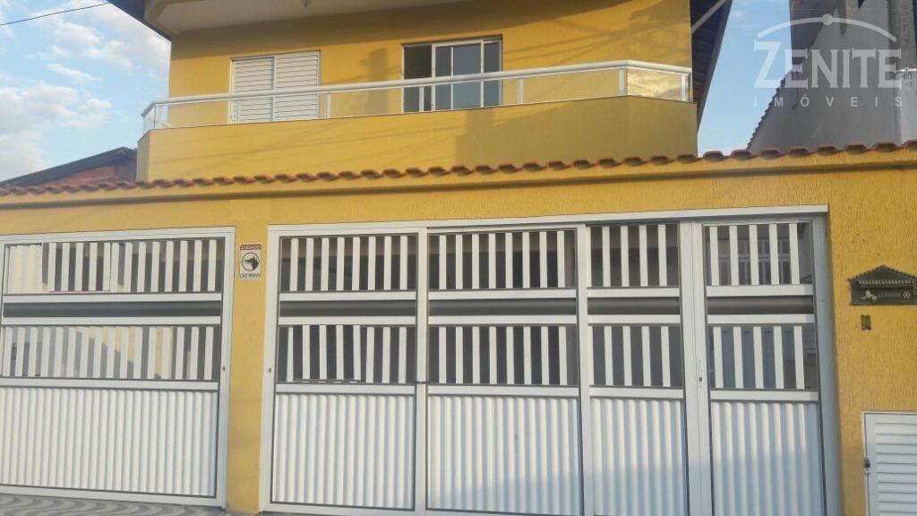 Casa residencial à venda, Jardim Quietude, Praia Grande.