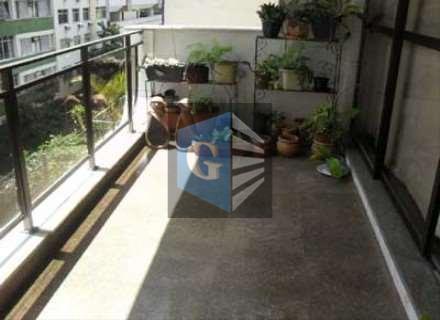 1ºquadra- rua nobre - belo edifício -frente - muito lindo e montado. 3 varandas - salão...