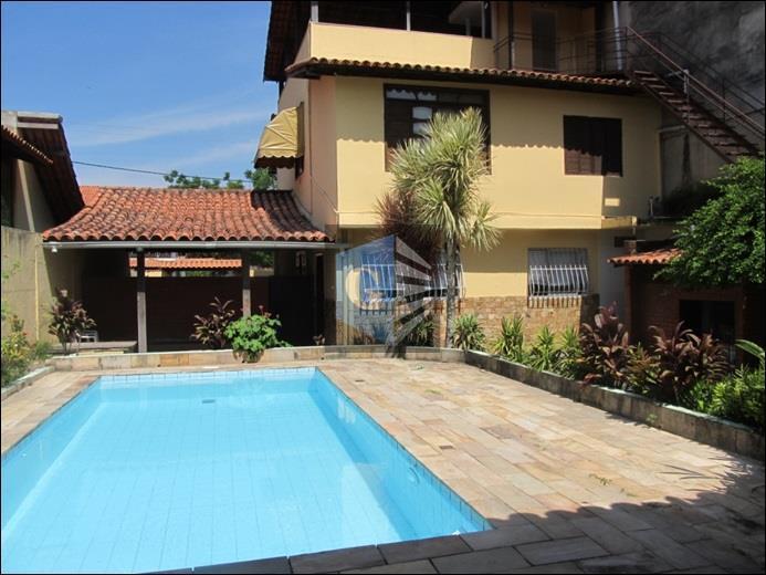 Itaipú- Casa toda montada -4qts -suíte - piscina -4carros