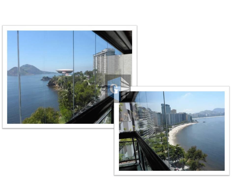 Boa Viagem - Magnifica vista marVarandão, salão- 4quartos- 2suítesdep. completa- 02 vagas de garagem, Um luxo!!!