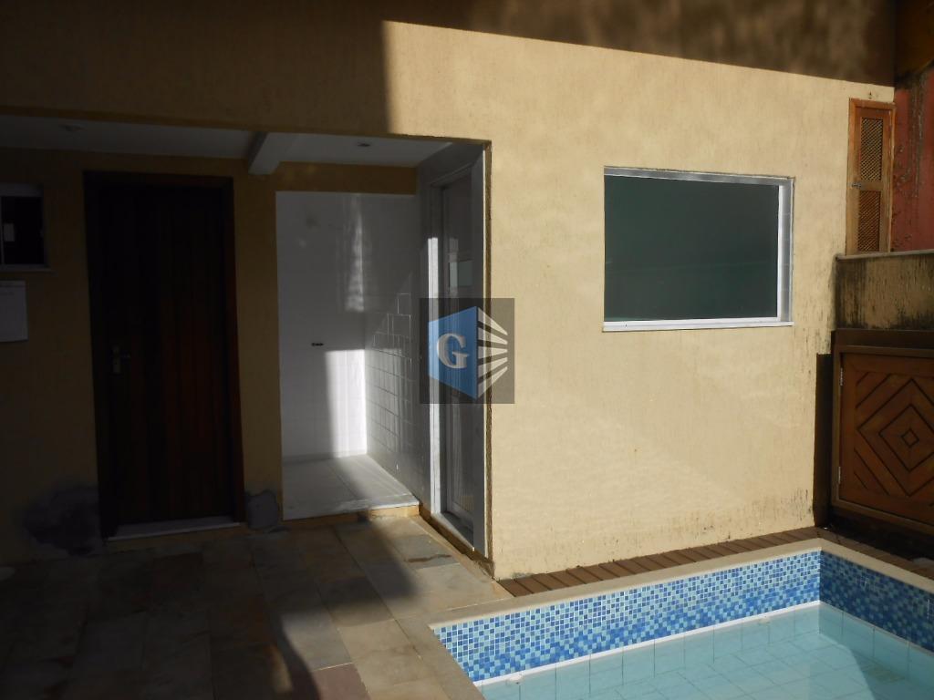 condomínio fechado c/ 15 casas duplex - vazia - toda piso porcelanato - 1ºpavt= garagem -...