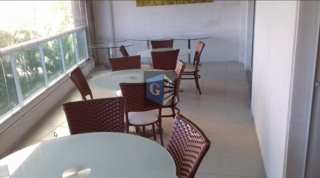 vistão mar - sol da manhã- vazio - porcelanato - varandão - salão - 3quartos (...