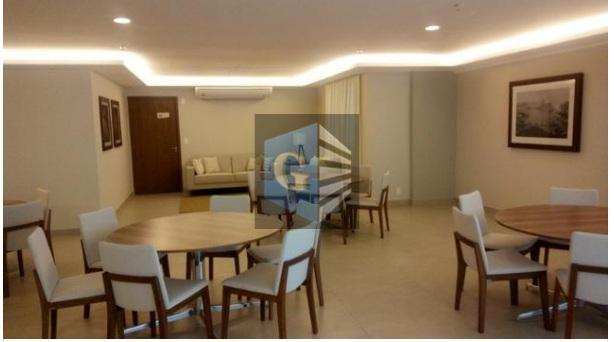prédio de alto luxo!! condomínio novo , composto de 2 quartos sendo os dois com suítes...
