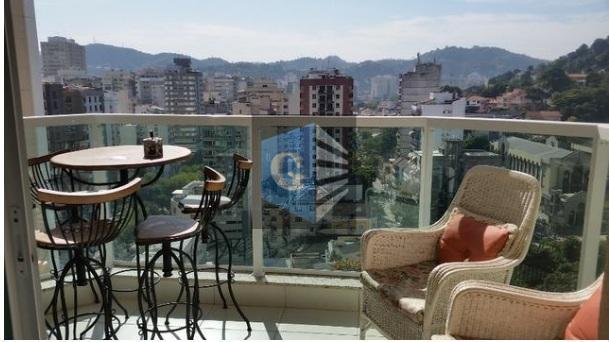 Apartamento com 3 dormitórios à venda, 110 m² por R$ 540.000 - Icaraí - Niterói/RJ