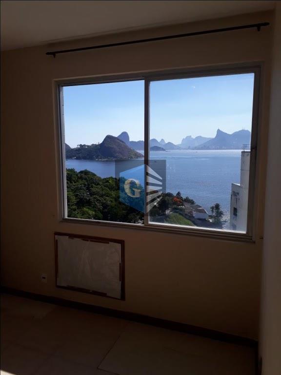 a mais linda vista da praia - 1quadra- vazio - todo montado -piso cerâmica- varandão panorâmico...