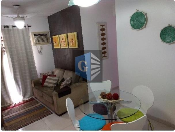 Apartamento com 2 dormitórios à venda, 55 m² por R$ 420.000 - Barreto - Niterói/RJ