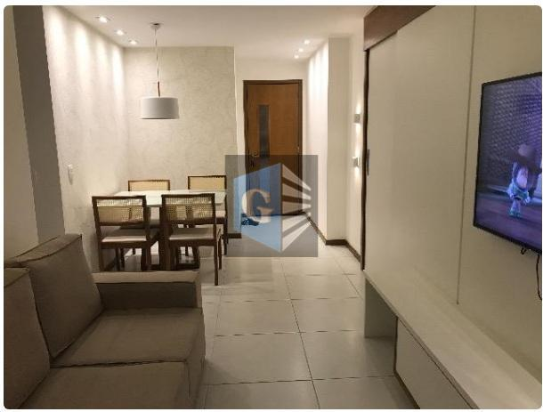 apartamento á venda no centro de niterói!!ap com varanda - 1 sala - 3 quartos sendo...