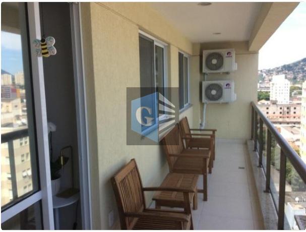 Apartamento com 2 dormitórios à venda, 90 m² por R$ 500.000 - Centro - Niterói/RJ