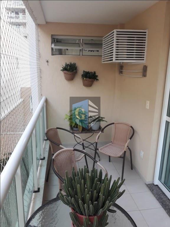 Apartamento com 2 dormitórios à venda, 70 m² por R$ 450.000 - Santa Rosa - Niterói/RJ