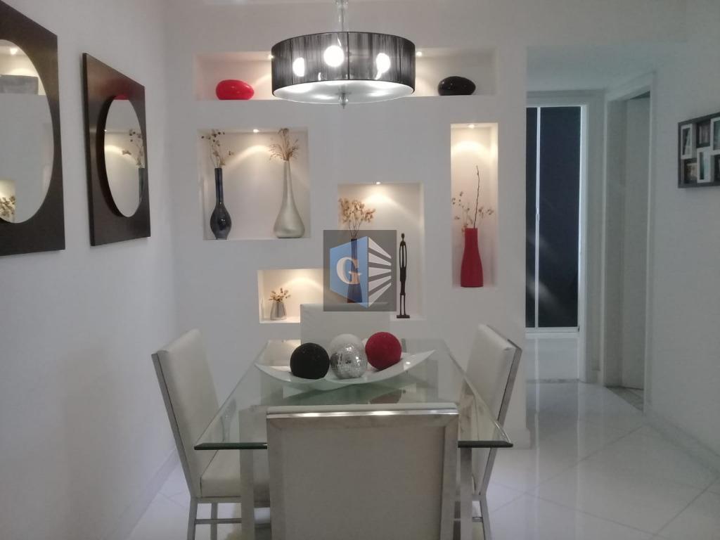 Apartamento com 2 dormitórios à venda, 65 m² por R$ 330.000 - Barreto - Niterói/RJ